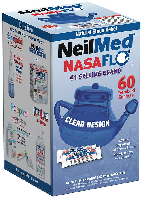 NeilMed Neti Pot with sachets 240ml