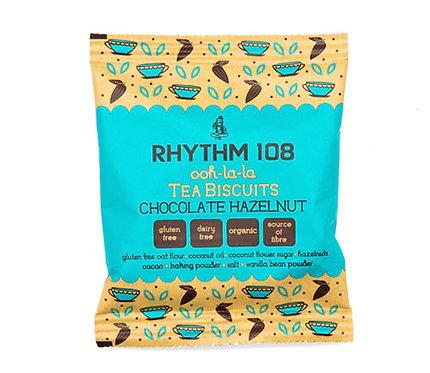 Rhythm 108 Tea Biscuits Chocolate Hazelnut 24g