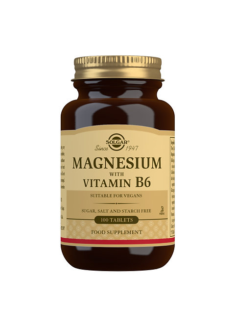 Solgar Magnesium with Vitamin B6