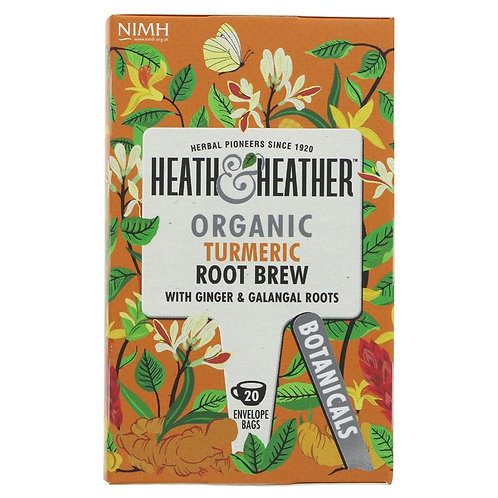 Heath & Heather Organic Turmeric Tea 20 bags