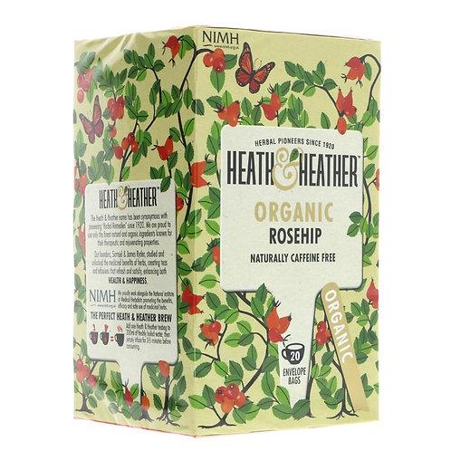 Heath & Heather Organic Rosehip Tea 20 Bags