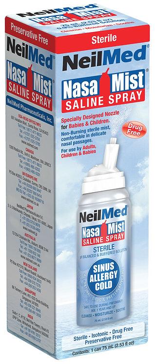 NeilMed Nasa Mist Saline Spray 75ml