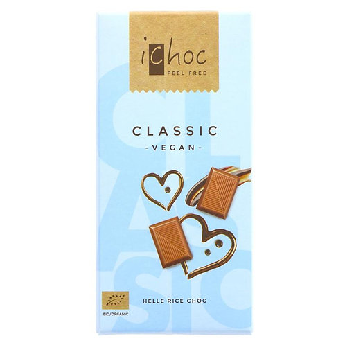 IChoc (Vivani) Classic Vegan Chocolate Bar (80 G)