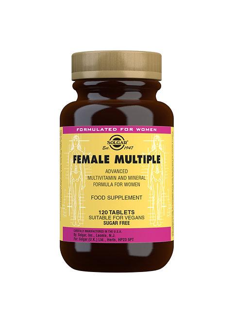 Solgar Female Multiple Advanced Multivitamin (120 Tablets)