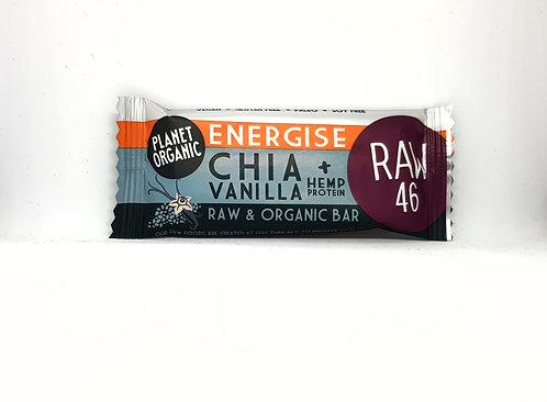 Planet Organic Chia & Vanilla Energise Bar 30g