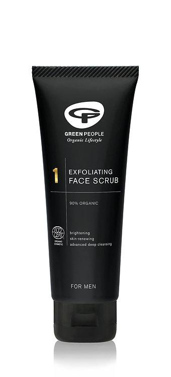 Green People For Men Exfoliating Face Scrub 100ml