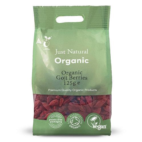 Just Natural Organic Goji Berries 125g