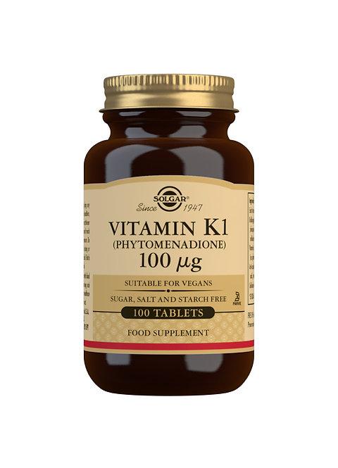Solgar Vitamin K1 100 UG