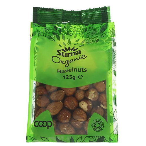 Suma Organic Hazelnuts Nuts 125g