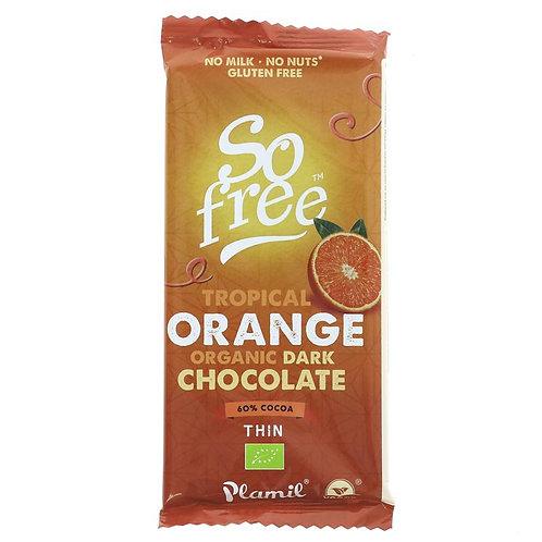So Free Organic Tropical Orange Chocolate 80g