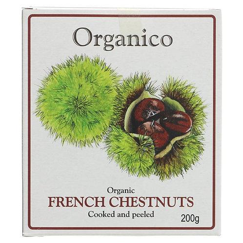 Organico Organic French Chestnuts 200g