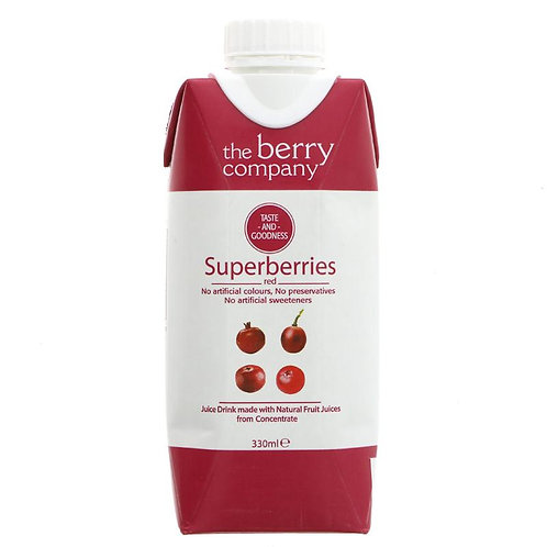 Berry Company Superberry Red Juice Drink 330ml