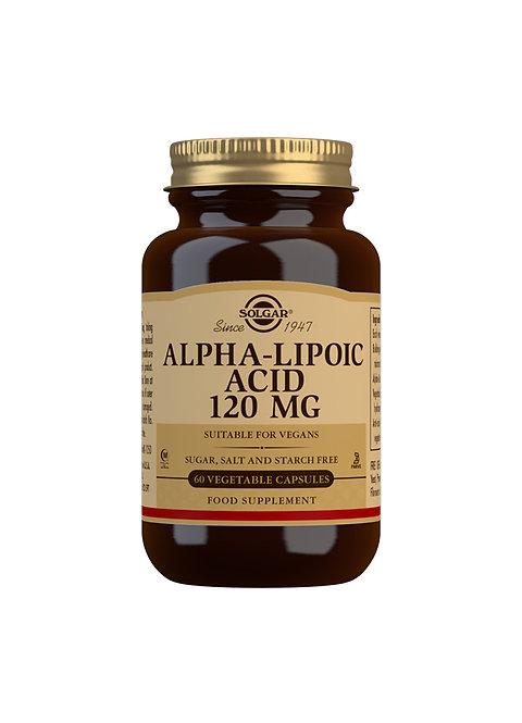 Solgar Alpha-lipoic Acid 120 MG