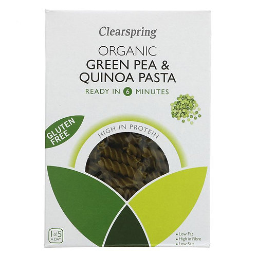 Clearspring Organic Green Pea & Quinoa Pasta 250g