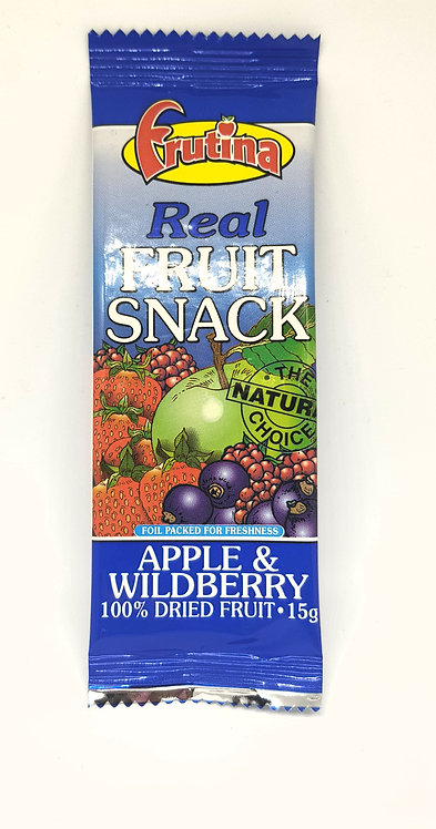 Fruitina Real Fruit Snack Apple & Wildberry 15g