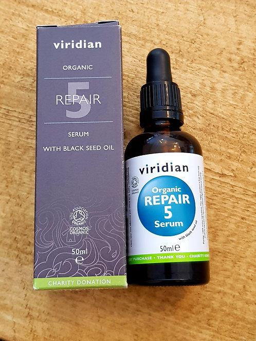 Viridian Organic Repair 5 Serum 50ml