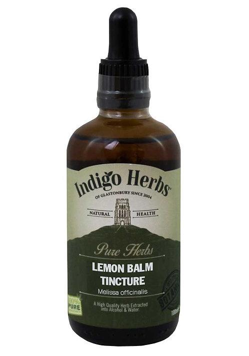 Indigo Herbs Lemon Balm Tincture 100ml