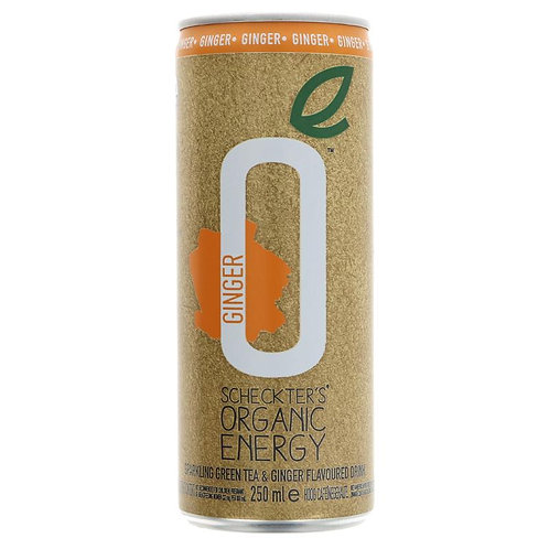 Scheckters Organic Ginger Energy Drink 250ml