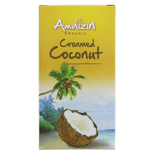 Amaizin Organic Creamed Coconut 200g