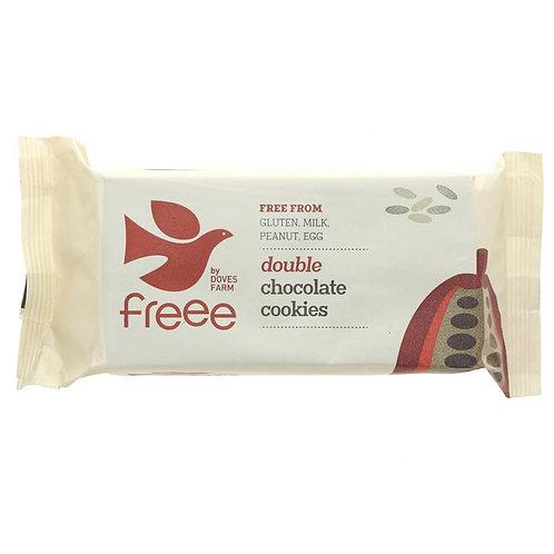 Doves Farm Organic Double Chocolate Cookies 180g