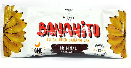 Mighty Bee Bananito Original & Chewy 25g