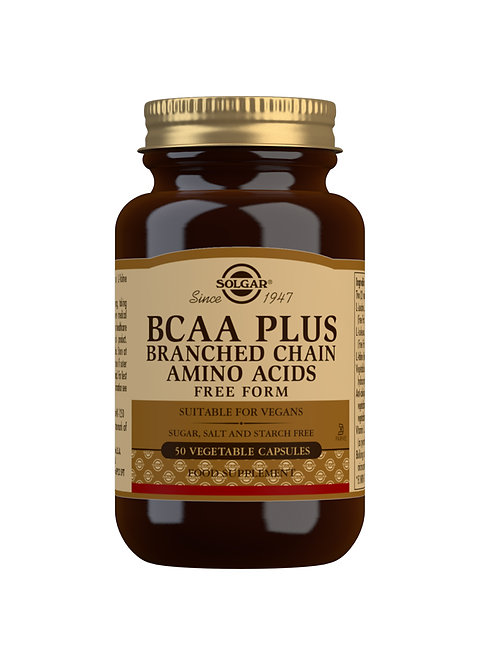 Solgar BCAA Plus Branched Chain Amino Acids