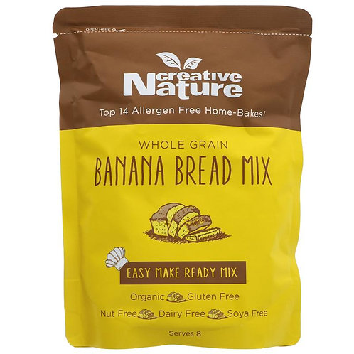 Creative Nature Wholegrain Banana Bread Mix 250g