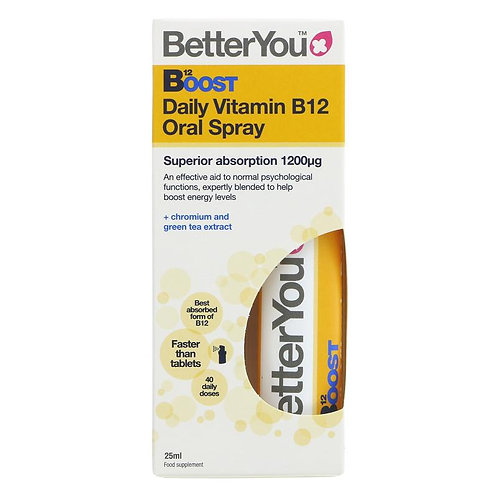 Better You Daily Boost Vitamin B12 Oral Spray 25ml