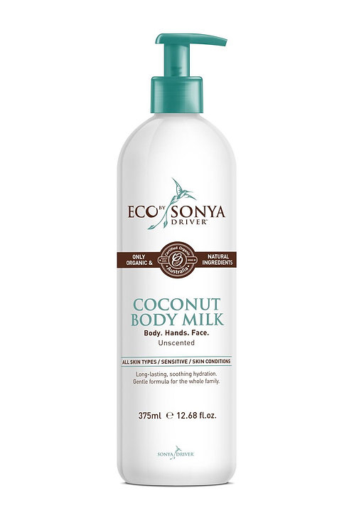 Eco By Sonya Organic Coconut Body Milk 375ml