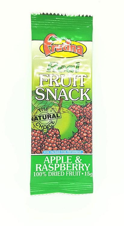 Fruitina Real Fruit Snack Apple & Raspberry 15g