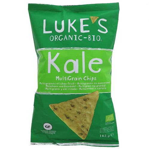 Luke's Organic Kale Multigrain & Seed Chips 142g