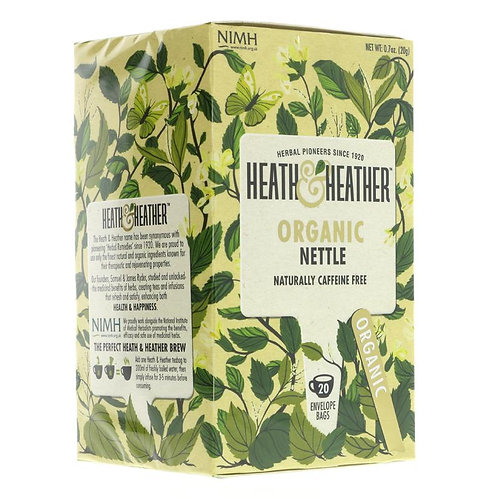 Heath & Heather Organic Nettle Tea 20 Bags