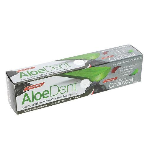 Aloe Dent Aloe Vera Charcoal Toothpaste 100ml