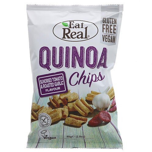 Eat Real Quinoa Chips Tomato & Carlic 80g