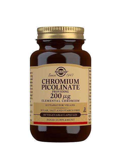 Solgar Chromium Picolinate 200 ug