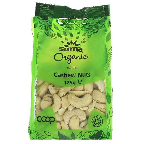 Suma Organic Cashew Nuts 125g