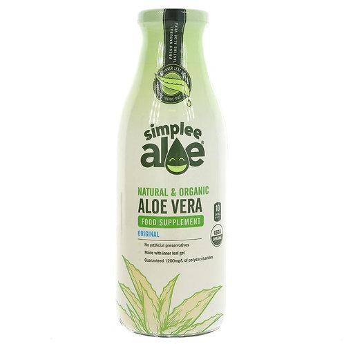Simplee Aloe Organic Aloe Vera Dietary Supplement 500ml