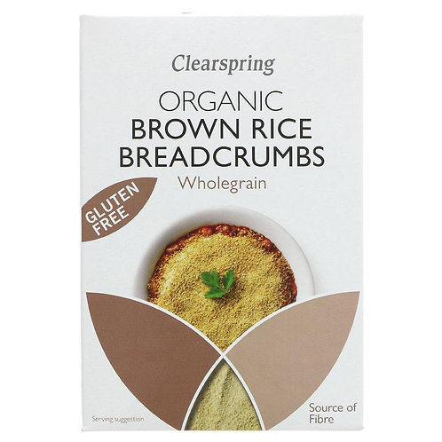 Clearspring Organic Brown Rice Breadcrumbs 250g