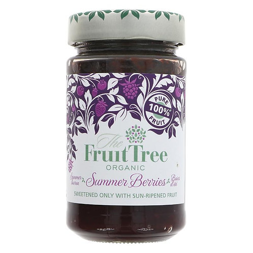 The Fruit Tree Organic Summer Berries 250g