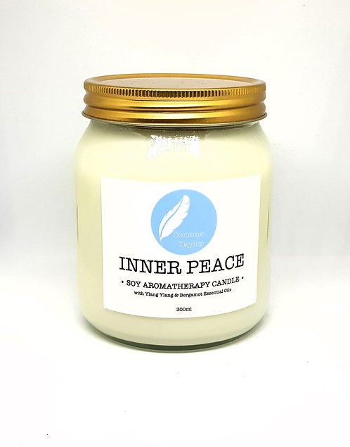 Corinne Taylor Soy Aromatherapy Candle Inner Peace 300ml