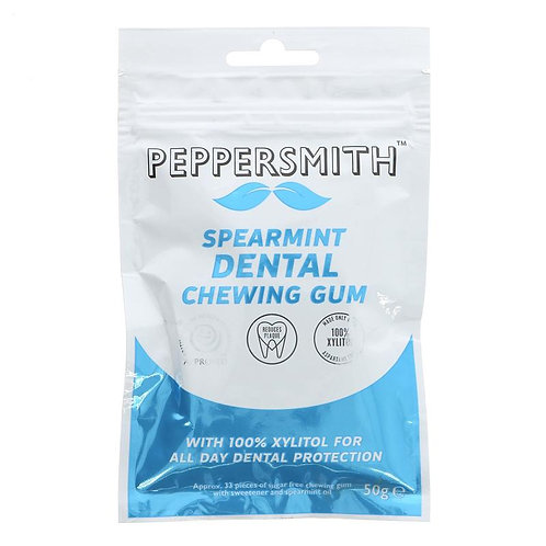 Peppersmith Spearmint Dental Chewing Gum 50g