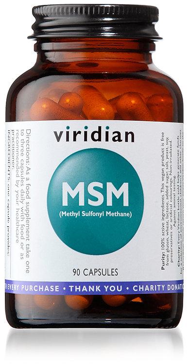 Viridian MSM 90 Capsules