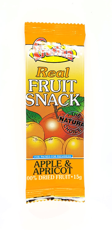Fruitina Real Fruit Snack Apple & Apricot 15g