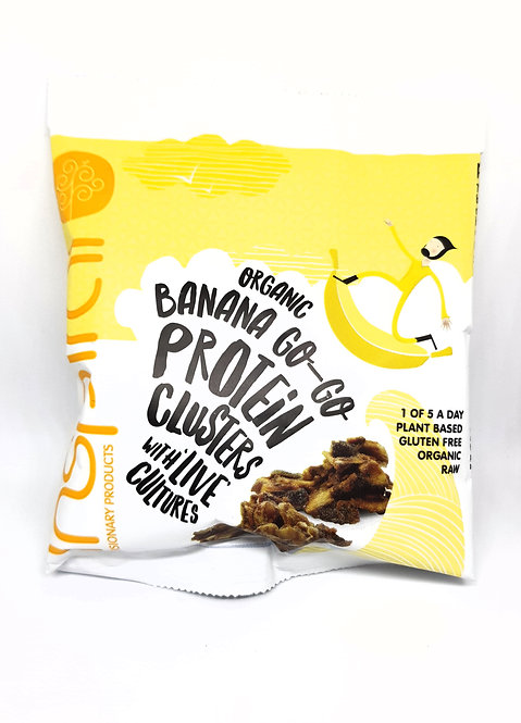 Inspiral Banana Go-Go Protein Clusters 50g