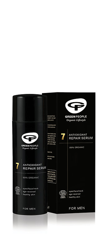 Green People For Men Antioxidant Repair Serum 50ml