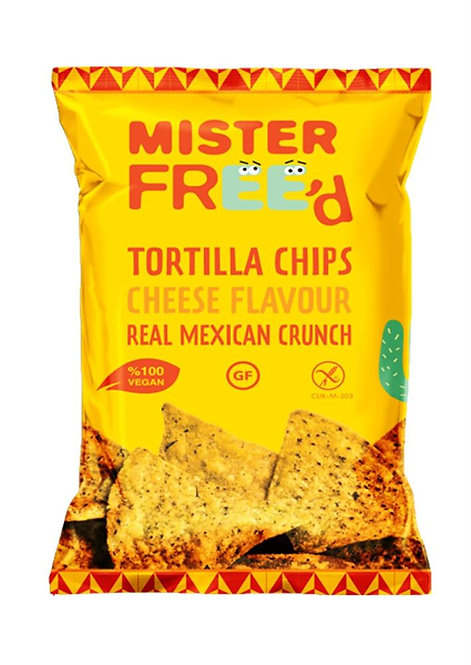 Mister Freed Tortilla Chips Cheese Flavour 135g