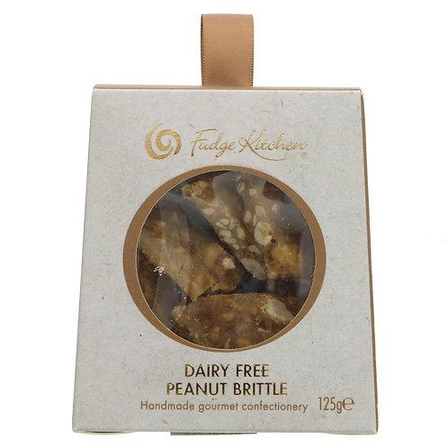 Fudge Kitchen Dairy Free Peanut Brittle 125g