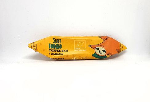Super Fudgio Organic Fudge Toffee & Banana Flavour 30g
