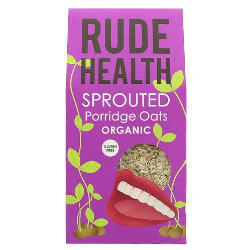 Rude Health Sprouted Porridge Oats 500g