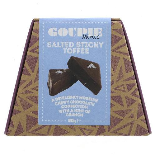 Goupie Minis Salted Sticky Toffee 80g